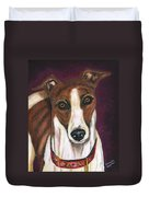 Royalty - Greyhound Painting Duvet Cover