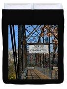 Rube Nelson Bridge 2 Duvet Cover