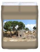 Ruined Castle Duvet Cover