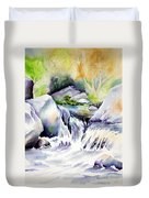 Running Waters Duvet Cover