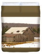 Rural Ontario Farm Duvet Cover