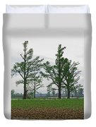 Rural Trees Iv Duvet Cover