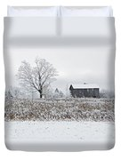 Rural Winter Duvet Cover
