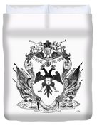 Russia: Coat Of Arms Duvet Cover