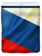 Russia Flag Duvet Cover