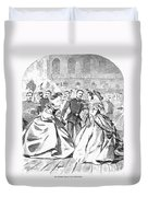 Russian Visit, 1863 Duvet Cover