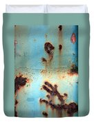Rust And Paint 2 Duvet Cover