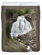 Rustic Falls Yellowstone Duvet Cover