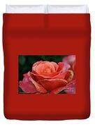 Rustic Rose Duvet Cover