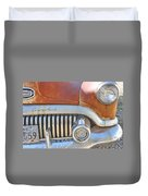 Rusty Abandoned Old Buick Eight Duvet Cover