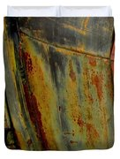 Rusty Abstract Duvet Cover