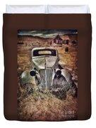 Rusty Car  Duvet Cover