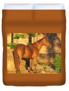 Rusty Standing Proud Duvet Cover