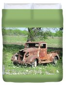 Rusty Truck Duvet Cover