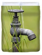 Rusty Water Supply Point Duvet Cover