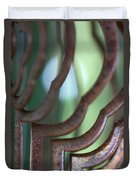 Rusty Windchimes Duvet Cover