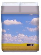 Rye, Canola And Grainery, Bruxelles Duvet Cover