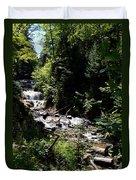 Sable Falls Grand Marais Mi Duvet Cover