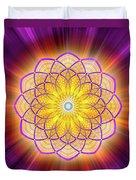 Sacred Geometry 110 Duvet Cover
