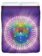 Sacred Geometry 114 Duvet Cover