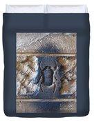 Sacred Scarab. Duvet Cover by JSM Fine Arts John Malone