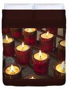 Sacrificial Candles Duvet Cover