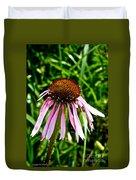 Sad Cone Flower Duvet Cover