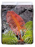 Sadleria Fern Hawaii Duvet Cover