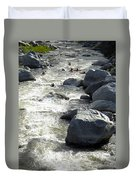 Safely Through The Boulders Duvet Cover