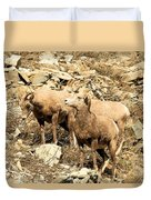 Safety In Numbers Duvet Cover