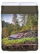 Sagging Rooftop 1 Duvet Cover