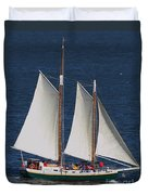 Sailboat In The San Francisco Bay . 7d7900 Duvet Cover