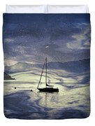 Sailing Boat Duvet Cover by Joana Kruse