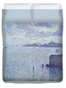 Sailing Boats In An Estuary Duvet Cover