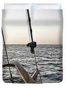 Sailing The Seas Duvet Cover