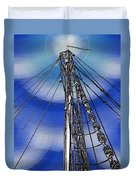 Sailors Beck And Call Duvet Cover