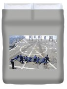 Sailors Fire M4a1 Carbine Assault Duvet Cover