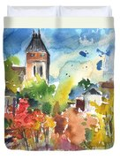 Saint Bertrand De Comminges 05 Duvet Cover