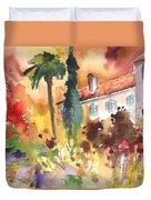 Saint Bertrand De Comminges 12 Duvet Cover