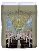 Saint Bridgets Gothic Church Duvet Cover