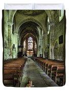 Saint Emilion Church Duvet Cover