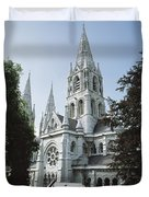 Saint Finbarres Cathedral, Cork City Duvet Cover