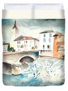 Saint Girons 02 Duvet Cover