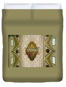 Saint Louis Cathedral Mural Duvet Cover