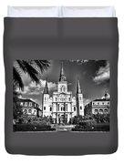 Saint Louis Cathedral Duvet Cover