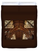 Saint Marys Church Interior 1 Duvet Cover