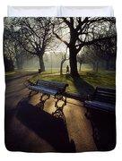 Saint Stephens Green, Dublin, Co Duvet Cover