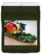 Salad Dressing Duvet Cover