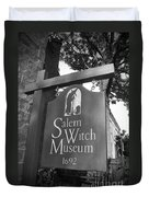Salem Witch Museum Duvet Cover