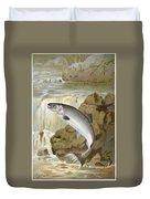 Salmon, C1900 Duvet Cover